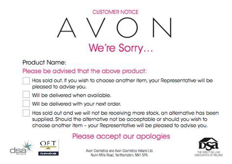 Avon Templates Free Costumepartyrun
