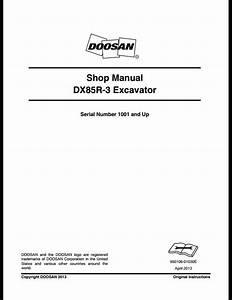 2013 Doosan Dx85r