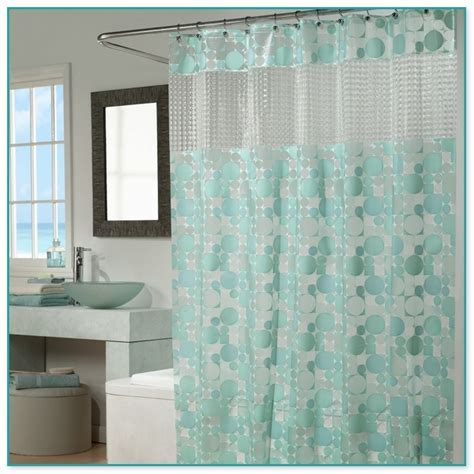 Shower Curtain Clear View Top