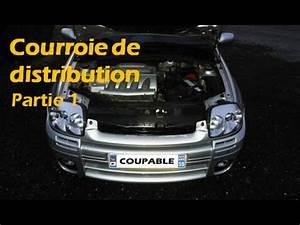 Remplacement Courroie Distribution : clio rs1 remplacement courroie de distribution partie 1 3 youtube ~ Medecine-chirurgie-esthetiques.com Avis de Voitures