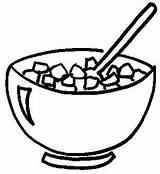 Cereal Bowl Coloring Clipart Pages Clip Cliparts Box Drawing Breakfast Bowls Colouring Cereals March Library Getdrawings Printable Attribution Forget Link sketch template