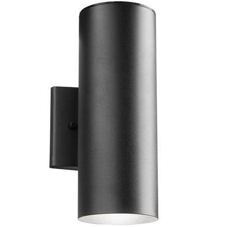 exterior wall sconce kichler 11251bkt30 modern textured black led outdoor