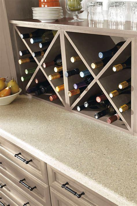 wall wine storage cabinet kitchen craft cabinetry