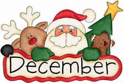 Christmas December Clipart Winter Months Birth Graphics