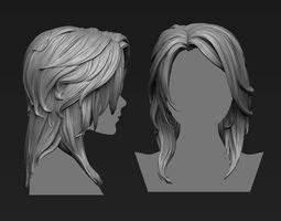 Hair 3D Models CGTrader