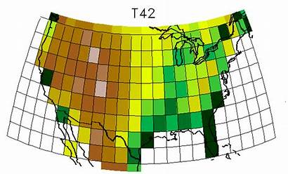 Resolution Climate Modeling Models Grid Spatial Droughts