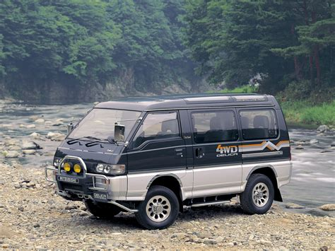 mitsubishi delica mitsubishi delica review and photos