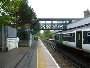 kenley station  marathon geograph britain  ireland