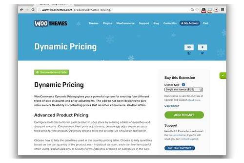 woocommerce dynamic pricing plugin download