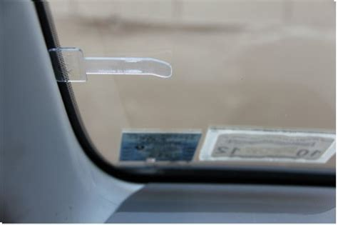 Stick On Parking Ticket Windscreen Clip Pay Display