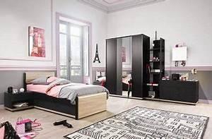 une chambre ado fille style paris glamour gautier With deco chambre paris fille