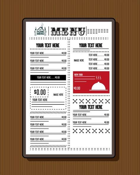 dining menu template free restaurant menu template free vector 15 888 free vector for commercial use format