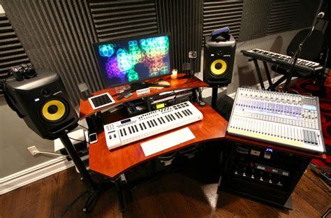 Home Recording Studio Courses by Home Studio With Krk Speakers Infamous Musician