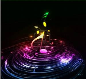 3D Colorful Music Notes Wallpaper Abstract Music Notes ...