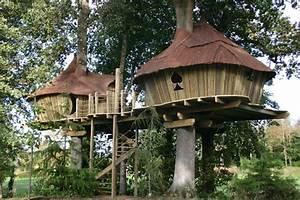 Constructeur Cabane Dans Les Arbres : abane construction de cabanes dans les arbres cabane dans les arbres cabanes de france ~ Dallasstarsshop.com Idées de Décoration