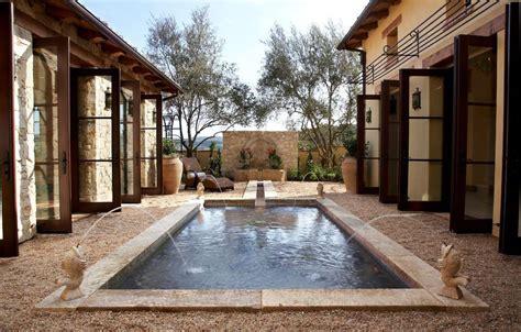 pool mediterranean style house plans exterior marylyonartscom