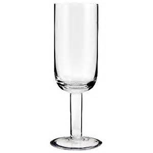 Thick Stem Champagne Flutes Set Of 6