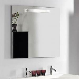 Spiegel Mit Lampe : dansani luna spiegel mit eisglas lampe und sensor 100x80cm ~ Eleganceandgraceweddings.com Haus und Dekorationen