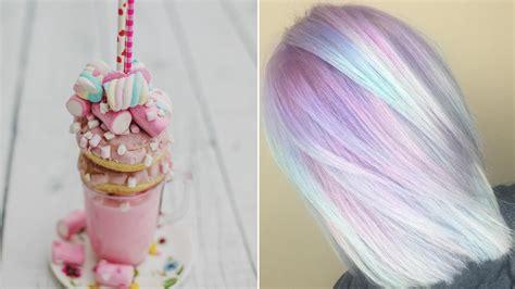 Pastel Milkshake Hair Is The Tasty New Rainbow Hair Color