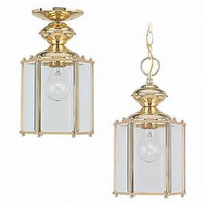 Sea gull lighting classico light polished brass outdoor