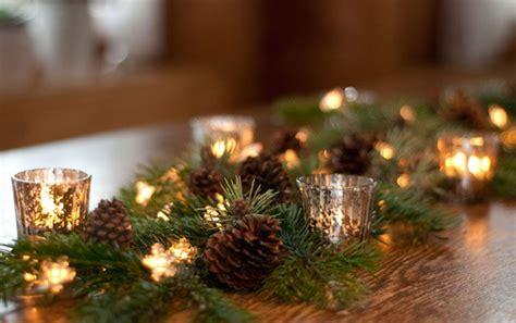 diy weihnachtliche girlande als tischdeko deko kitchen