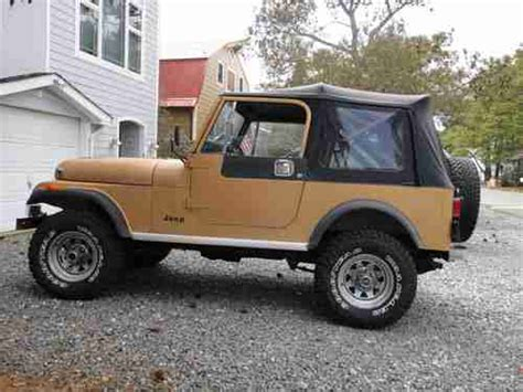 1982 jeep jamboree purchase used 1982 jeep cj 7 cj7 jamboree edition 0418 in