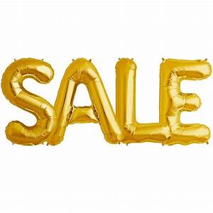 sale 34 inch gold foil letter balloon pack 1 With 34 inch letter balloons
