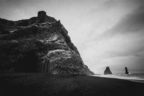 Iceland Black Beach Magnificent And Dangerous