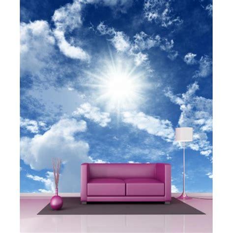 papier peint g 233 ant ciel et nuage 11105 stickers muraux deco