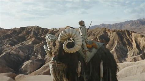 About the Banthas in the new Mandalorian trailer