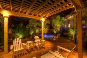 Outdoor Lighting For Pergolas Lighting Ideas