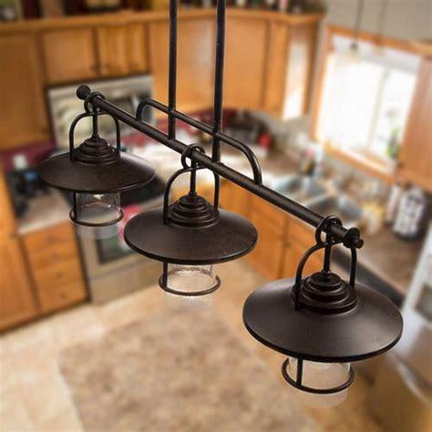 kitchen light pendants patriot lighting home 36 quot miner bronze 3 light 2159