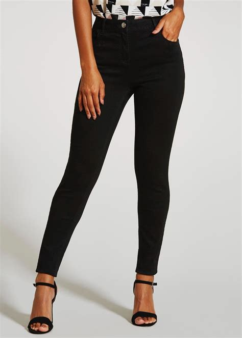 April Super Skinny Jeans Black Matalan