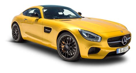 yellow mercedes amg gt solarbeam car png image pngpix