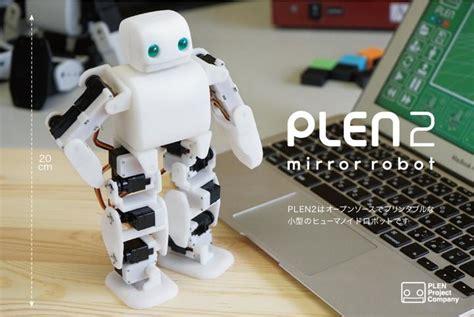 plen  printable robot project launches plen