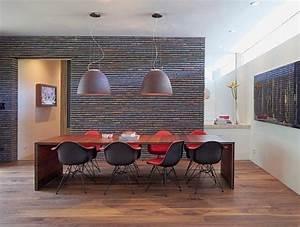 Ensemble de salle a manger et idees de deco en 45 photos for Deco cuisine avec chaises salle À manger rouge