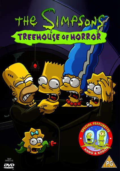 The Simpsons  Treehouse Of Terror Dvd Iwoot