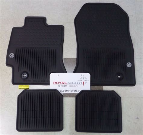 Toyota All Weather Floor Mats by Toyota 86 Factory All Weather Rubber Floor Mats Genuine