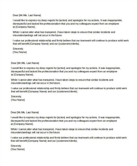Letter For Resume Exles by Useful Exles Of Apology Letter To Vatansun Letter