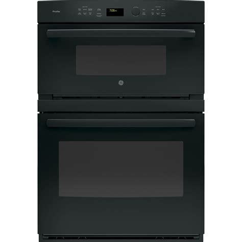 ptdhbb ge profile  combination convection microwave  wall oven black