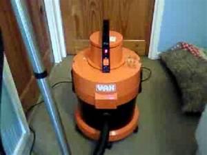 Vintage Vax 121 Dry Vacuuming
