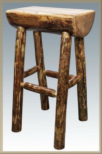 Log Stool - log bar stools ebay