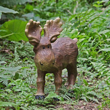 mainstays 13 5 quot medium moose lawn ornament walmart ca