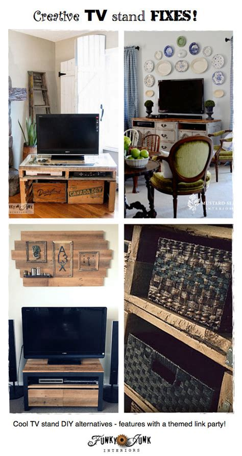 party junk  cool diy tv stands funky junk interiors