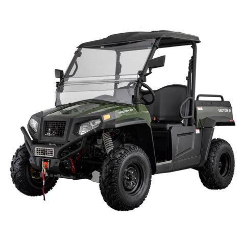 Utility Vehicle by Vector E1 Electric Utility Vehicle Shop Your Way