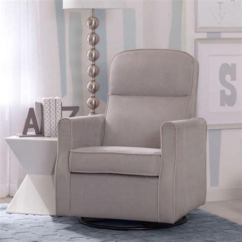 delta children clair glider swivel rocker chair rocking