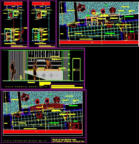 saloon  applied materials  dwg detail  autocad