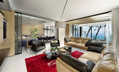 french villa living room 2  Interior Design Ideas