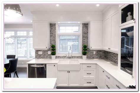 guide    design  white themed kitchen home  cabinet reviews