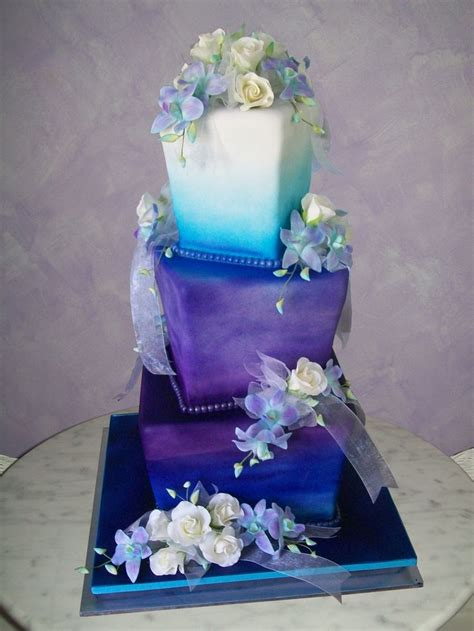 406 Best Images About Wedding Cakes Purple Indian